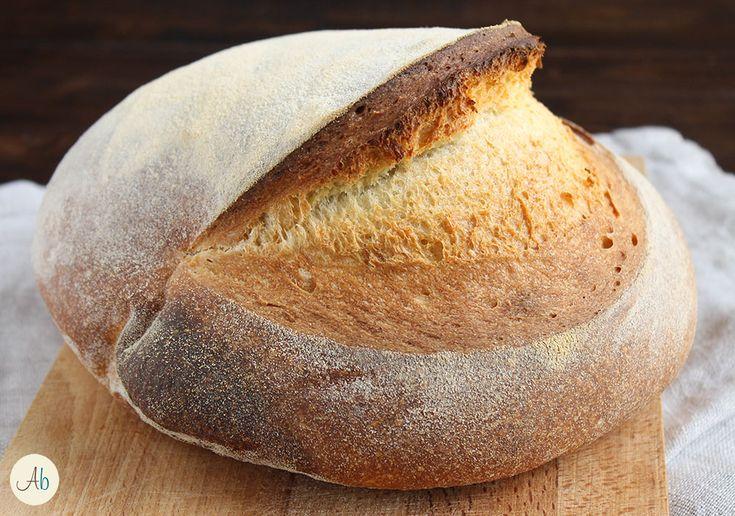 Pane di Semola Rimacinata ad Impasto Diretto - un procedimento semplice e veloce per impastare al mattino ed avere il pane sulla tavola a cena. Buonissimo!
