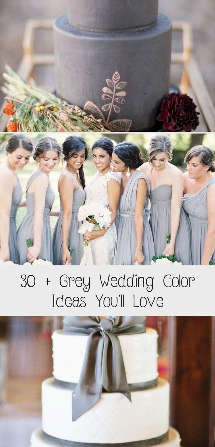 grey mismatched bridesmaid dresses #wedding #weddings #weddingideas #weddingblog #weddingcolors #himisspuff