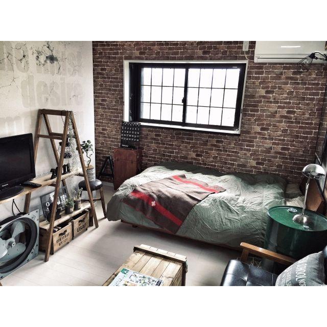 アメブロやってます♡/DIYテーブル/セルフリノベーション/インダストリアル/男前…などのインテリア実例 - 2015-09-12 12:53:31 | RoomClip(ルームクリップ)