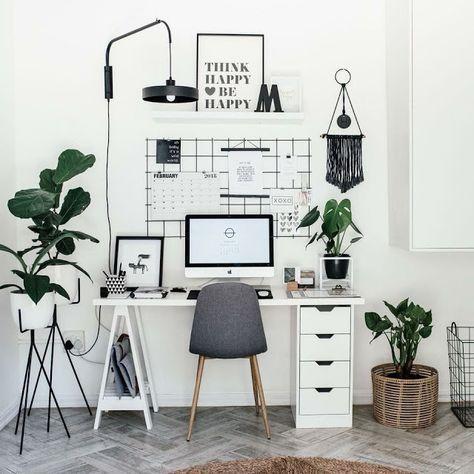 47 Inspirerende ideer til hjemmekontorets organisation