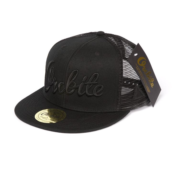 Orcbite - Trucker - Black via Orcbite - The Original Lifestylebrand for Athletes and Gamers. Click on the image to see more!