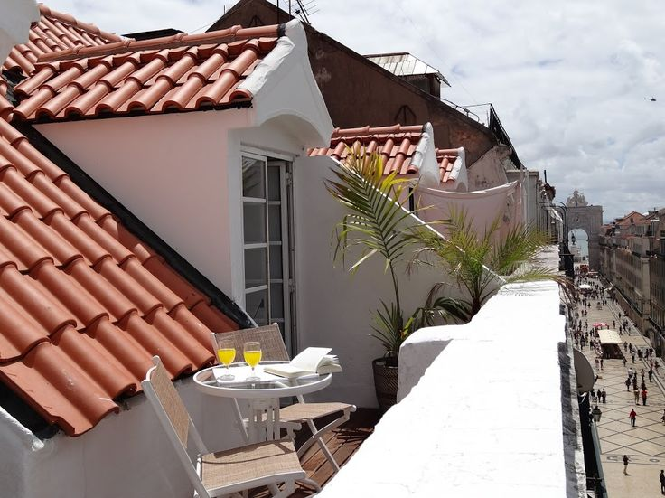 AWARD-WINNING w/ amazing terrace at downtown:Baixa 3 apartment, Lisbon, Portugal.