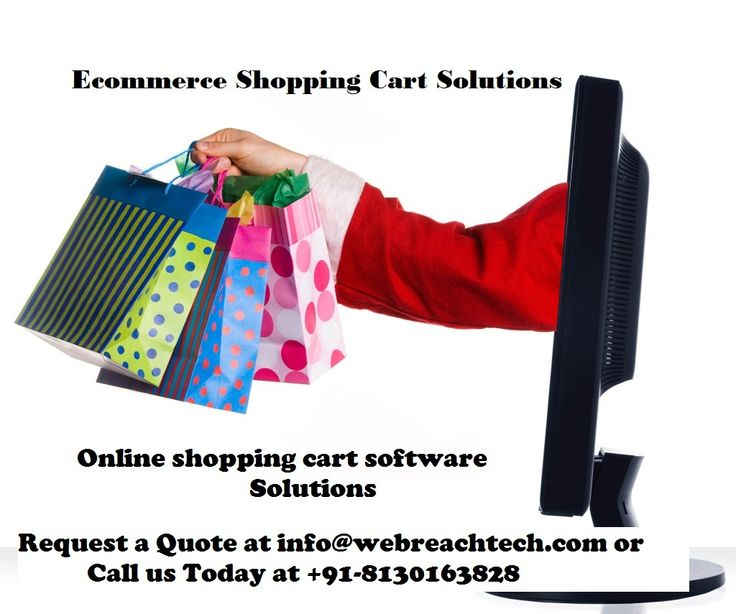 #ecommerceShoppingCartSolutions‬ and #onlineshoppingcart‬ software solutions by #webreachtech‬ read more at: