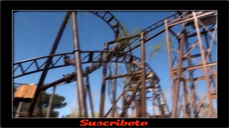 Accidente en el Tren de la Mina del Parque de Atracciones de Madrid Prov...