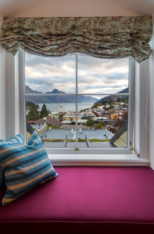 View from the Mason and Wales Suites at Hulbert House, Queenstown, NZ