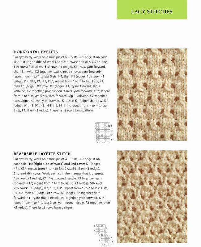 Knitting Stitches That Wonot Curl : 400 Modele de tricotat Stitch. Cusaturi Excelent Discu?ie despre LiveInternet...