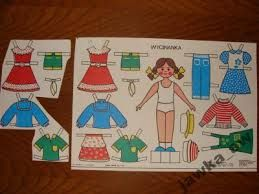 old school paper dolls. Used to do her my own creative clothes :)