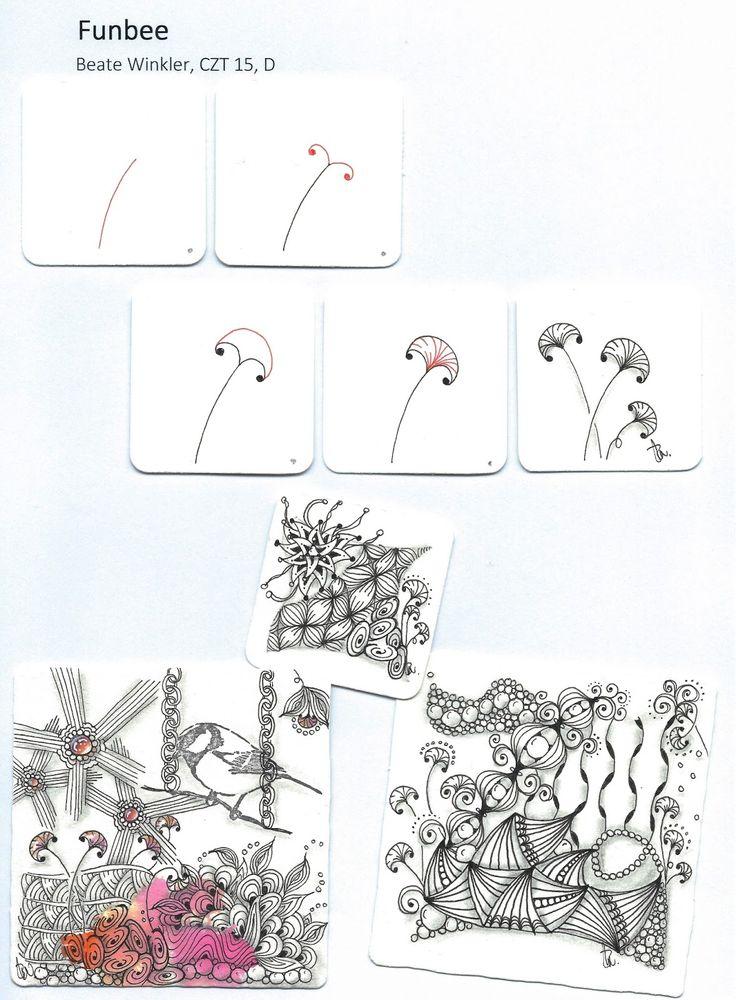 Hallo liebe Kreative, endlich ein wenig Zeit, um Euch nach und nach meine inzwischen 20 kreierten Zentangle-Muster vorzustellen. Hier e...
