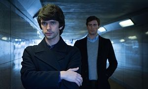 Ben Whishaw and Edward Holcroft in London Spy.
