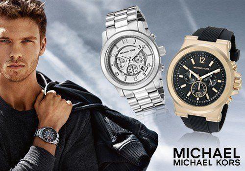 Ώρα για ανδρική πολυτέλεια με ρολόγια Michael Kors σε 2 σχέδια! Μόνο 149,00€
