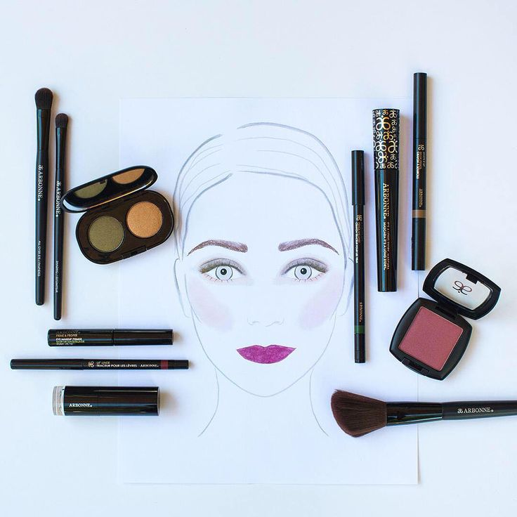 Try out this sophisticated look for a sultry night on the town! #ForestFlush #ArbonneMakeup #Arbonne