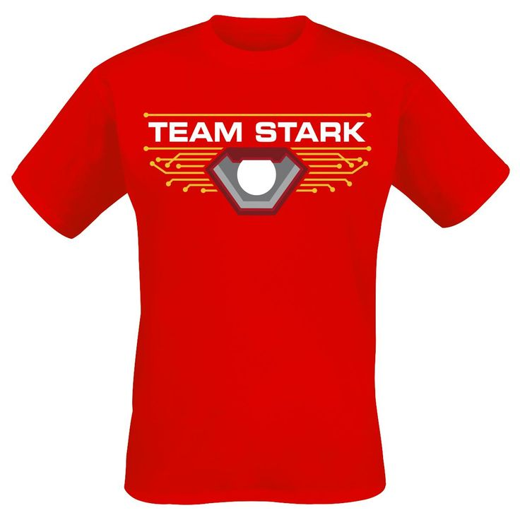 Captain America Civil War  T-Shirt  »Team Stark« | Jetzt bei EMP kaufen | Mehr Fan-Merch  T-Shirts  online verfügbar ✓ Unschlagbar günstig!