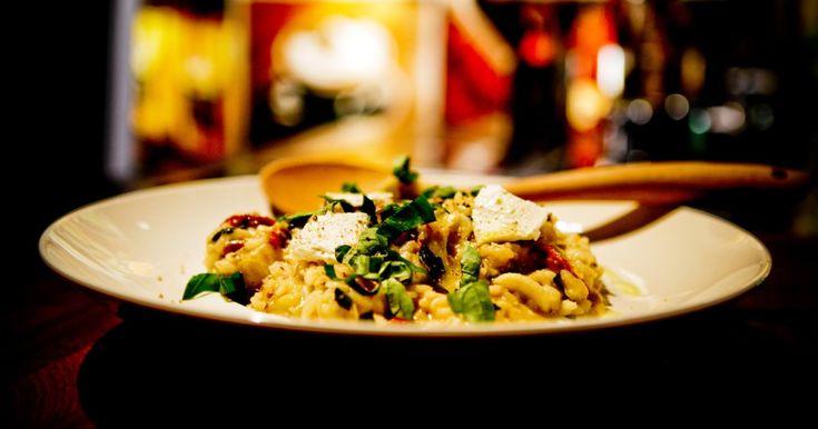Une délicieuse recette de risotto aux artichauts présentée par foodlavie.