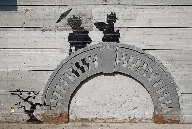"""Banksy's Street Art in Williamsburg, Brooklyn on Day 17 of """"Better Out Than In"""" by NYC♥NYC, via Flickr"""
