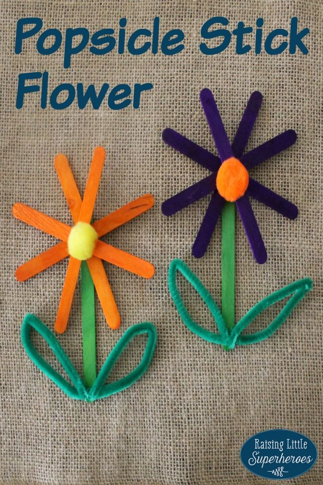 25 best ideas about pipe cleaner flowers on pinterest for How to make things out of sticks