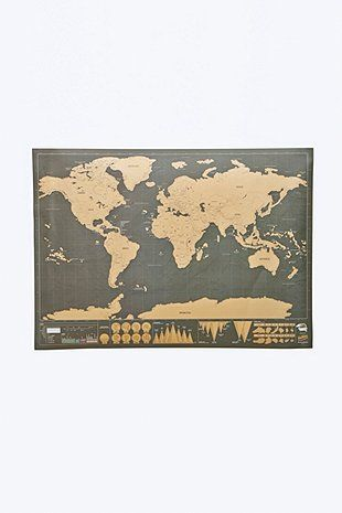 Scratch Map Deluxe
