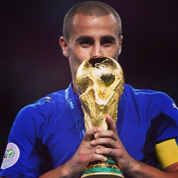 Cannavaro Italy national football team World Cup 2006 winner Germany