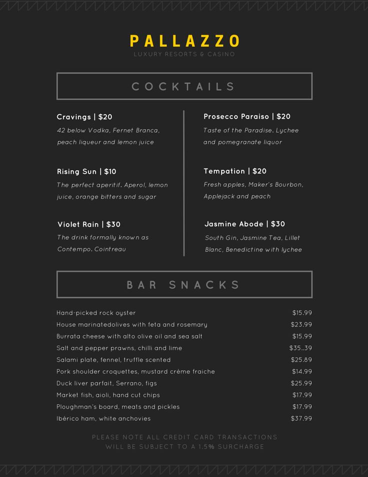 Remixable Food & Drink Layout. Start designing now at www.canva.com/design