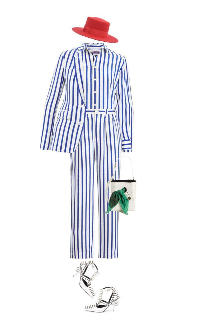 """in london, we wear suits"" by nandusho on Polyvore featuring Calvin Klein 205W39NYC, Balenciaga, fashionWeek, saintlaurent, CalvinKlein and ralphlauren"