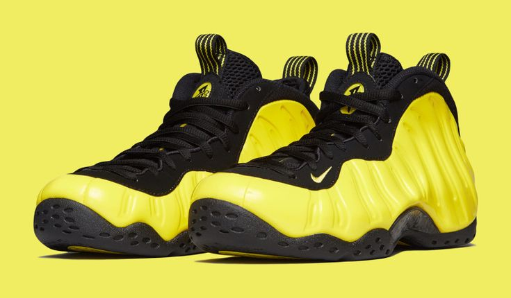 This Black & Yellow Nike Air Foamposite One Will Release Later This Month