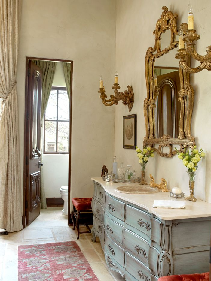 old world bathrooms | BOTY 2013: Old World Charm | St. Louis Homes and Lifestyles