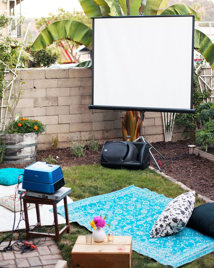 An Outdoor Movie Party: The Party Plan