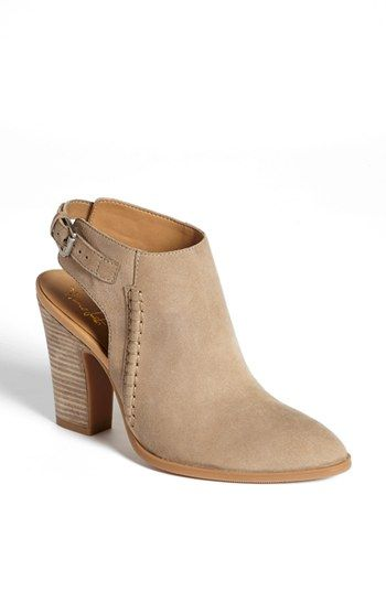 open-back booties for spring: love the western edge to these. Franco Sarto 'Adesso' Leather Bootie