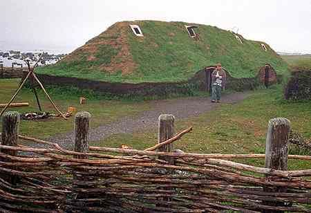 L'Anse aux Meadows, located on the northern tip of Newfoundland, Canada, is the only authenticated Norse site in North America. About 1000 years ago, Norse men and woman lived and worked here.