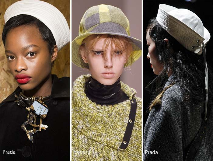 Fall/ Winter 2016-2017 Headwear Trends: Bucket Hats & Sailor Caps