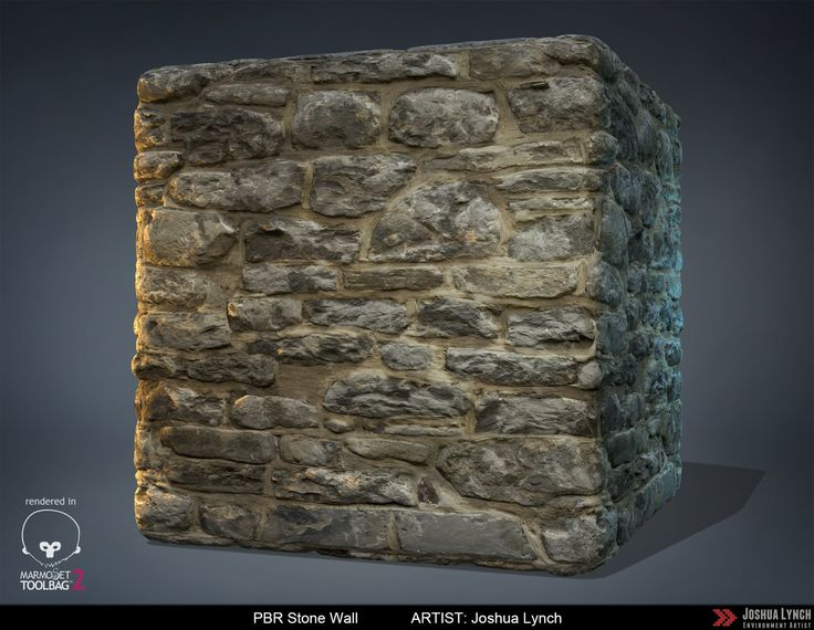 ArtStation - PBR Stone Wall, Joshua Lynch