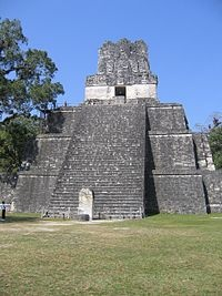 USA Todays 7 Wonders of World -Mayan pyramid at Tikal, Maya architecture spans several thousands of years key to understanding the evolution of ancient civilazation. 12of15