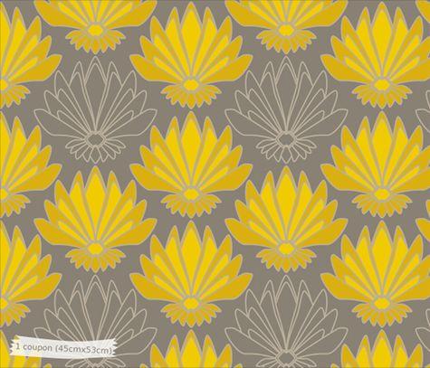 motifs lotus tissus - Recherche Google