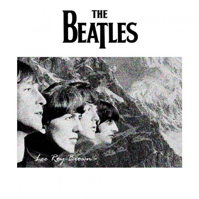 """The Beatles"" Art portfolio by Lee Roy Brown features a monolithic black and white Beatles cover announcing 24 FULL Digital Art Work Masterpieces and acts as both an introductory primer to those new to The Beatles phenomenon or an imaginative stimulus to fans already familiar with their incomparable story. Please CLICK this Link for Your SPECIAL Preview...  https://payhip.com/b/W1FD"