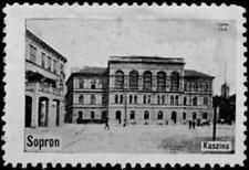 Sopron, Ödenburg: Reklamemarke Serie Sopron