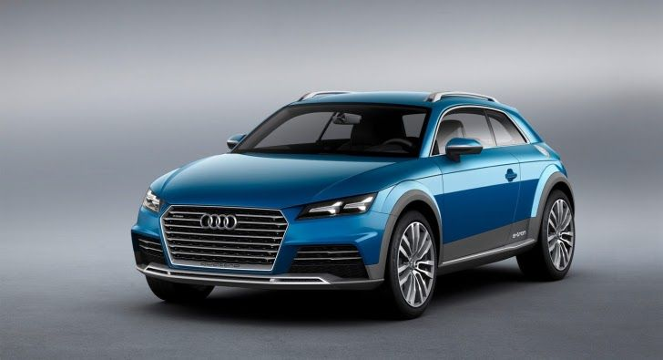 Audi Crossover Coupe Concept Leaked, Looks Like the 2015 TT