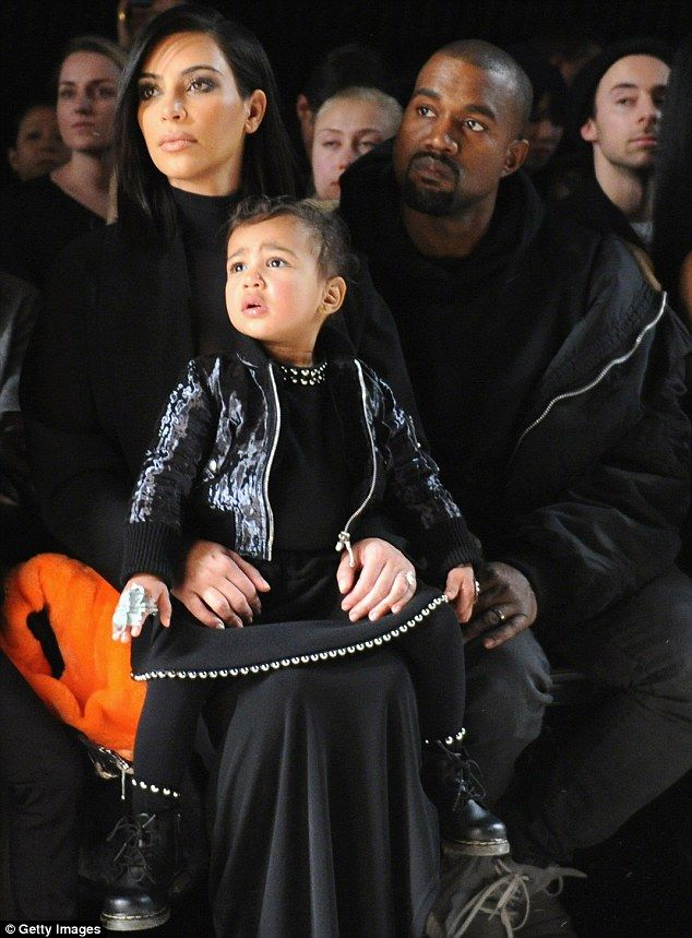 Family business: Kim Kardashian and Kanye West are having a jungle gym built in their back...