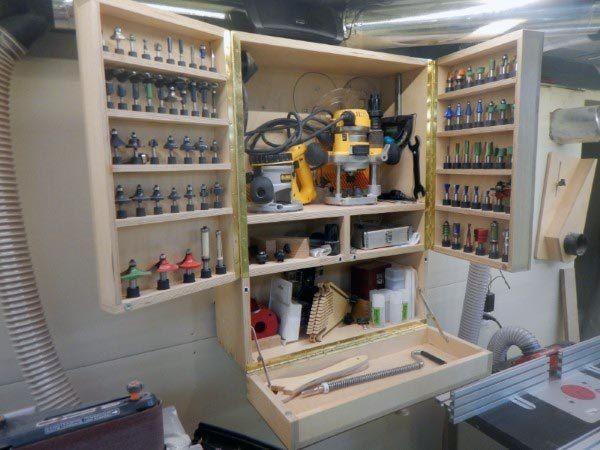 Top 80 Best Tool Storage Ideas   Organized Garage Designs | Organization  Ideas, Organizations And Storage