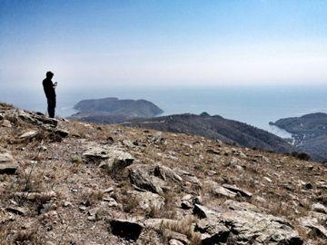 Me at Cap de Creus #CapNorfeu #CapdeCreus #Emporda Foto de Robert Carmona @escalenc www.unrinconsingular.blogspot.com