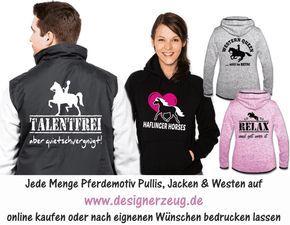Pferdepullis, Reiter-Jacken, Westen für Reiter und Kutschfahrer