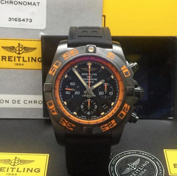 Breitling Chronomat Raven - BlackSteel Ref. MB0111