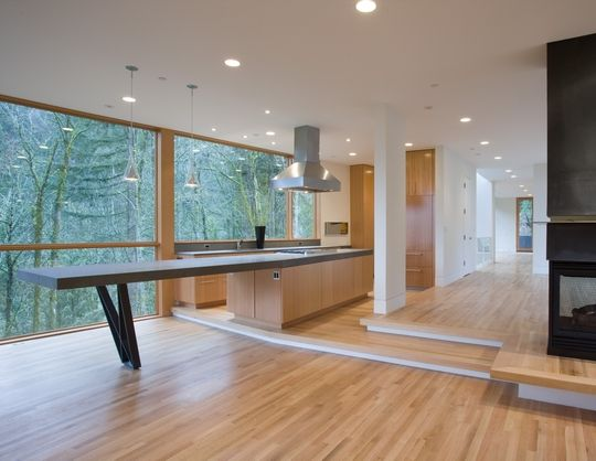 hoke-house-empty-kitchen    The twilight house #interior