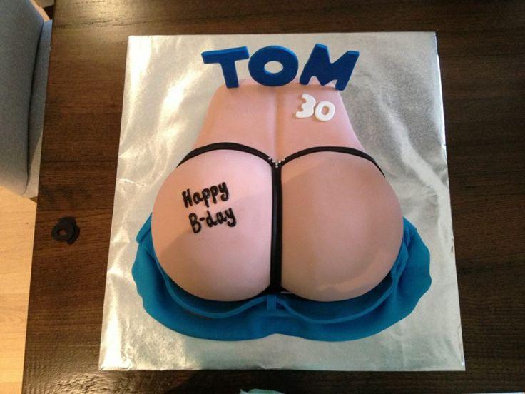 Tom's 30th cake