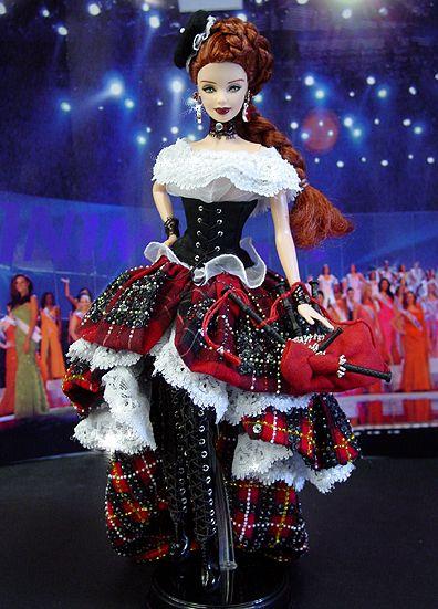 Miss Scotland - Barbie FROM: http://www.ninimomo.com/ipc08scotland1.jpg