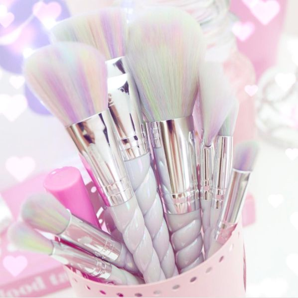 Or the OG unicorn brushes that will add serious dose of magic to any makeup routine. | 16 Makeup Brushes That Are Prettier Than You