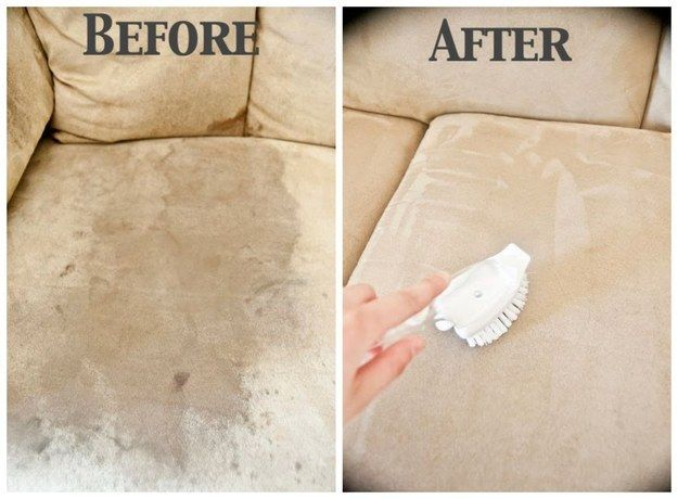Someday I'll need to actually get the crayon off this shitty couch. | 28 Ways To Fix Stuff Your Kids Ruined