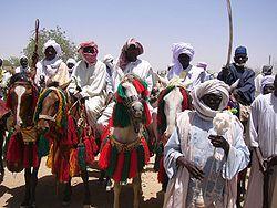 A tribal delegation, Chad