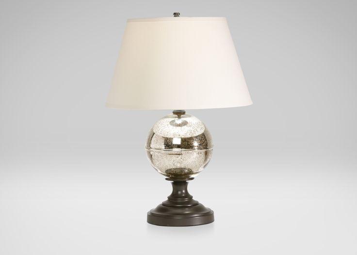 Glass Orb Table Lamp Ethan Allen Betsy W Pinterest