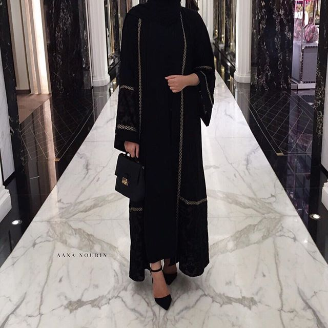 Another beautiful abaya from @hanaacollection.co.uk | ❤️