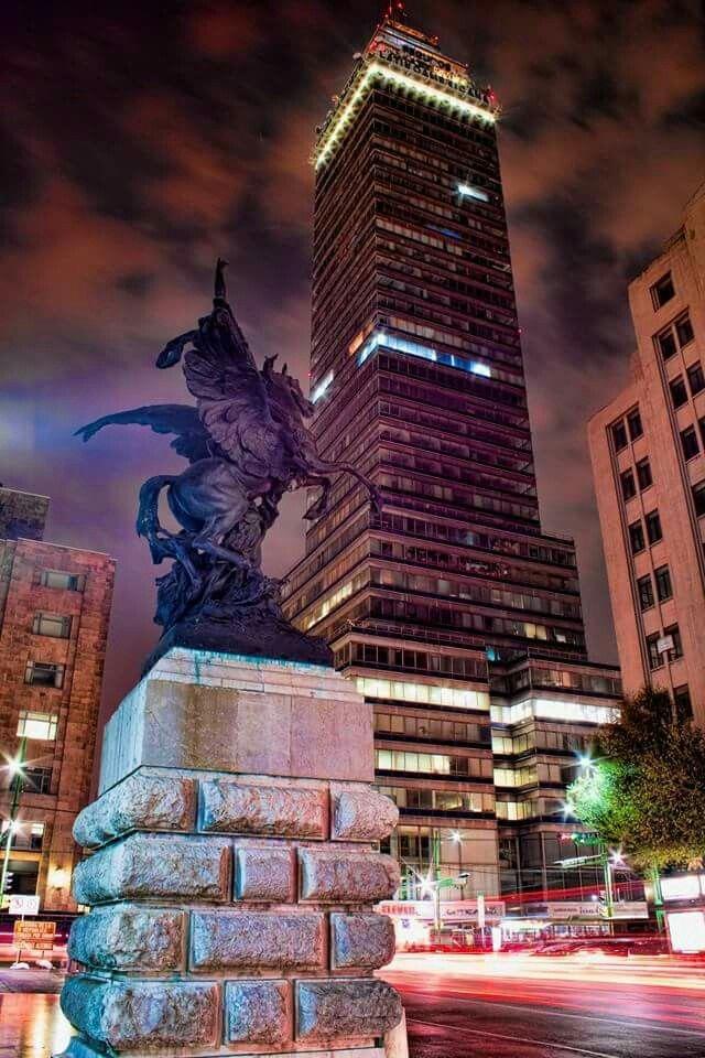 CIUDAD DE MÉXICO. GRACIAS POR COMPARTIR.SERGIO ALDANA NAVARRO. Torre Latinoericana