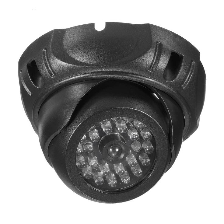 Features:    1. Compact design and easy to install  2. Activation red LED light  3. Realistic appearance  4. No wiring needed  5. Can be mounted on wall or ceiling using the included screws    Specification:    1. Power:2*AA bateries (not...